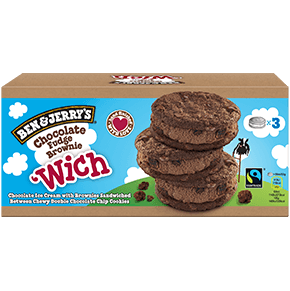 Flavor Detail Page - Chocolate Fudge Brownie 'Wich Multipack