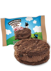 Chocolate Fudge Brownie 'Wich Wich